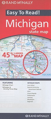 Rand McNally Easy to Read! Michican By Rand McNally and Company
